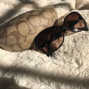 Coach Tortoiseshell Sunglasses